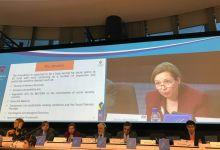 The Deputy Minister Zornitsa Roussinova presented the Presidency's Priorities to the European Economic and Social Committee